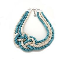 $25 rope necklace by Irem Ozerdem, Turkish jewelry designer