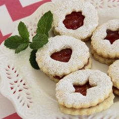 Linzer Cookies by PAM® will be a good addition to this year's Holiday cookie trays. #AllrecipesAllstars   #MyAllrecipes  #PAMcookingspray #ad #cookies #LinzerCookies #HolidayCookies