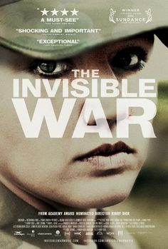 The Invisible War is a groundbreaking investigative documentary about one of America's most shameful and best kept secrets: the epidemic of rape within the U.S. military. The film paints a startling picture of the extent of the problem--today, a female soldier in combat zones is more likely to be raped by a fellow soldier than killed by enemy fire. The Department of Defense estimates there were a staggering 19,000 violent sex crimes in the military in 2010.