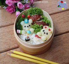Restaurant bento with miniature food | Bento Days