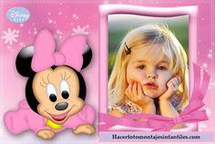 Fotomontaje de Minnie Baby