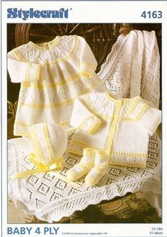 Stylecraft Baby Ensemble 4163