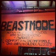 Beastmode!