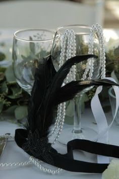 Roaring twenties table decorations | Roaring Twenties Party Inspiration!