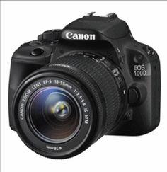 Reflex numérique Canon EOS 100D EF S 18 55 IS STM - 520,90 € livré #lemoinscher
