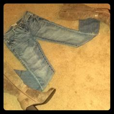 Aero bootcut jeans Boot cut Never worn jeans. Has some stretch to them. Aeropostale Jeans Boot Cut