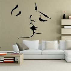 Purchase Decorative Painting BedroomLiving room TV Wall Decoration Wall Stickers Mural from Yuanzala on OpenSky. Removable Wall Stickers, Wall Stickers Murals, Wall Murals, Wall Painting Decor, Living Room Art, Fashion Room, Interior Design Living Room, Decoration, Room Decor