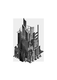 MEMORY PALACE – S//A Architecture Portfolio, Architecture Drawings, School Architecture, Isometric Drawing, Willis Tower, Thesis, Palace, Photo Wall, The Unit