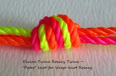 "Wrap-knot ""pater"" knot sample photo"