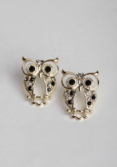 at Ruche // Tree Owl earrings