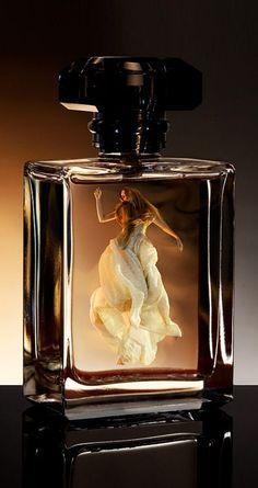 Lady in a bottle.