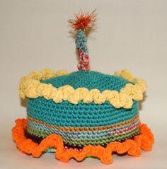 Birthday Cake Hat For The Birthday Baby