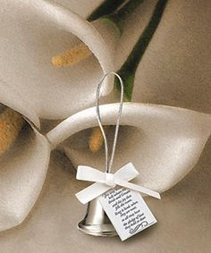 Ring In The Newlyweds Give Away Bells As A Favor And An Extra Special Touch For When Bride Groom Depart Fun Favors Pinterest