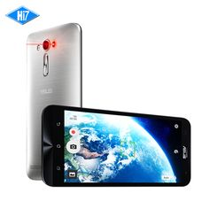 New Asus ZenFone 2 Laser ZE601KL Cellphone 6.0'' FHD 3GB RAM 32GB ROM Snapdragon 616 MSM8939 Octa Core 13.0MP Mobile Phone