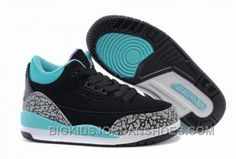72b9eebcdf5 Buy Air Jordan 3 Kids Tiffany Black Mint Green-Cement Grey Xmas Deals 2016  from Reliable Air Jordan 3 Kids Tiffany Black Mint Green-Cement Grey Xmas  Deals ...