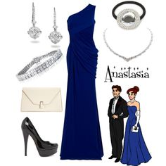 Anastasia, created by alsni on Polyvore
