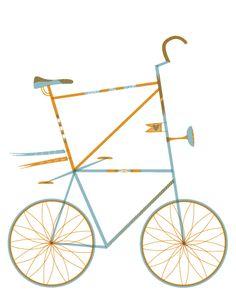 tall bike stationary