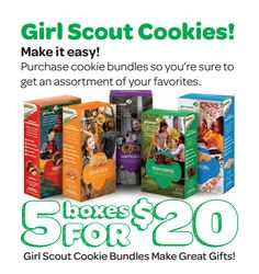 This one is great for booths! Use this table tent to promote a 5-pack bundle! 5 boxes for $20.