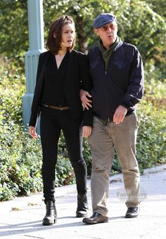 James Spader and Megan Boone film episode of The Blacklist in New York