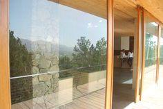 Sliding doors towards the Jarabacoa view