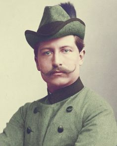 Kaiser Wilhelm ll of Germany,King of Prussia. Princess Victoria, Queen Victoria, Royal Princess, History Of Germany, Royals Today, German Royal Family, Wilhelm Ii, Germany And Prussia, Mustache Styles