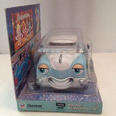 Chevron Cars Della Deluxe Toy 2001 MIB