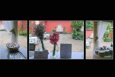 OS ESQUILOS RESTAURANTE:   A decoração foi toda nos tons lilás , rosa e ama...
