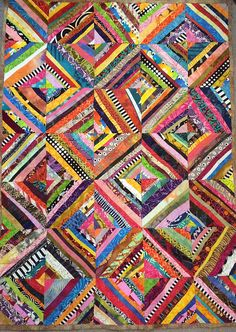 another string baby quilt 2015