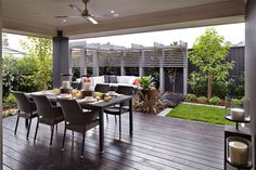 An alfresco area perfect for relaxing and entertaining