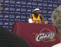 Cleveland Cavaliers forward LeBron James will be out for the next two weeks, the team announced on New Year's Day.