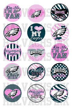 Items similar to Philadelphia Eagles INSPIRED Bottle Cap Images Digital  Printable File 4x6 on Etsy ff72622e0
