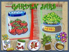 NEW! Garden Jars Collection