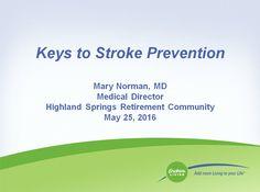 Stroke Prevention at Highland Springs Dallas