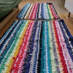 Teppich aus T-Shirts / carpet