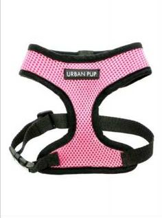 Soft Mesh Baby Pink Harness by Urban Pup Yorkie Clothes, Pet Clothes, Online Pet Supplies, Dog Supplies, French Bulldog Harness, Yorkie Dogs, Puppies, Black And White Logos, Mini Dogs