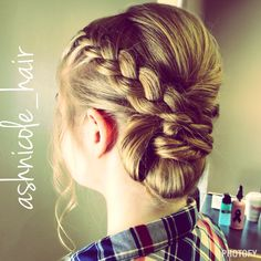 Hair by me! @ashnicole_hair