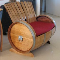 Wine Barrel Porch Loveseat (Hmmm Iu0027m Starting To Become A Little Concerned  Regarding