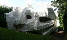 André Bloc - Sculpture-habitacle n°2, 1964 - Meudon - France