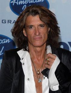 Joe Perry hes been my celebrity crush since I was in grade school. Hes aged well and still pretty dang handsome for a dude 30-40 years my senior