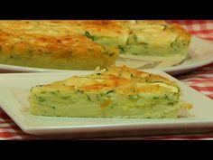 Cómo hacer pastel de calabacín receta fácil - YouTube Sushi, Picnic, Healthy Eating, Bread, Snacks, Vegetables, Breakfast, Ethnic Recipes, Desserts