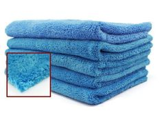 Premium lint free super fine edgeless ultra plush microfiber towels- use it as a soft drying towel for window cleaning or wiping off wax.  Will not scratch polished surface.
