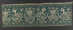 Embroidered Band  Textile  Greek  79 x 26 cm (31 1/8 x 10 1/4 in.)  Harvard Art Museums/Fogg Museum, Gift of Charles Bain Hoyt  , 1927.283