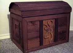 Hand made 'Browning' chest