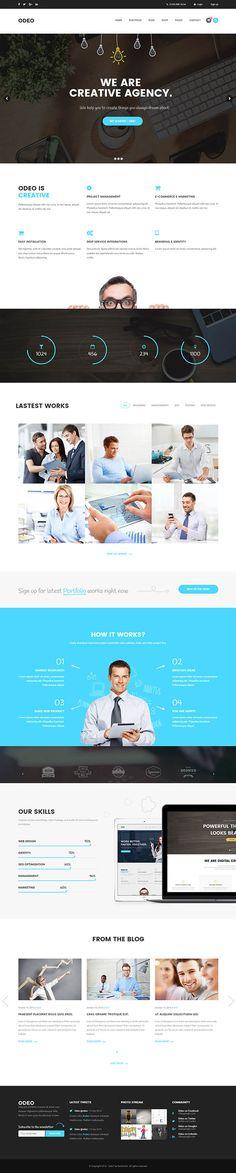 ODEO - Multipurpose & Business WordPress Theme