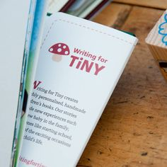 Writing for TiNY makes beautiful, hand bound 64 page books dealing with worries, changes and milestones. Helping you find the words! Personalised Childrens Books, Starting School, Child Life, New Experience, Writing, Words, How To Make, Beautiful, Personalized Books For Kids