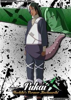 Fukai is from Naruto Fukai was a high-ranking Kumogakure shinobi as well as the predecessor of Killer B as the jinch&. Naruto Oc, Naruto Uzumaki, Anime Naruto, Ninja, Boruto, Naruto Characters, Fictional Characters, Kohaku, He Is Able