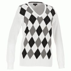 485a04eca0f Galvin Green CATHY Sweater - White Black Grey - LadiesGolf.co.uk