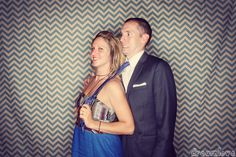 Ha!  This photobooth picture cracks me up every time.  Sometimes, you don't need any props, just some great expressions.  Love this DIY photobooth chevron fabric background, handmade by the bride herself!