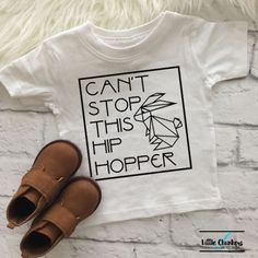 Can't stop this hip hopper  Cool Easter shirts  Easter