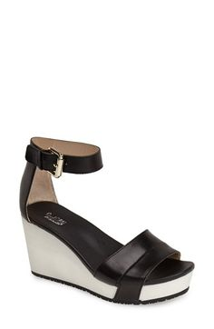 Dr. Scholl's Original Collection 'Warner' Wedge Sandal (Women) available at #Nordstrom